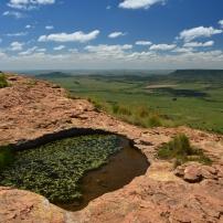 Korannaberg rock pool cluster, South Africa